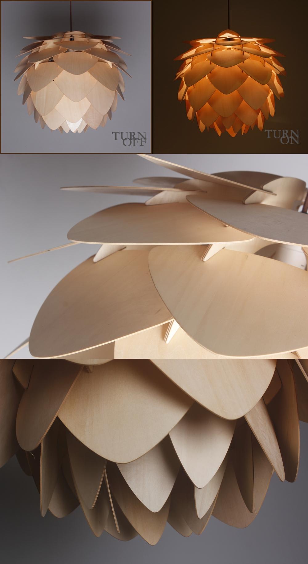 Moderno carciofo lampada di pendente di illuminazione di crimea ...