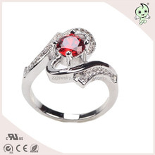 Charming And Distincive Exotic Jewelry 925 Sterling Silver Ring