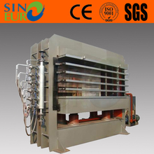 300 ton hot press machine/plywood making machine hot press/plywood woodworking machine