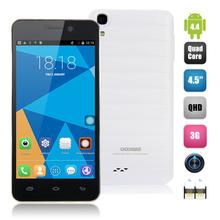 DOOGEE VALENCIA DG800 Creative Back Touch 1GB 8GB Android 4.4 MTK6582 Quad-core 1.3GHz 4.5 Inch OTG OTA Smart Somatosensory