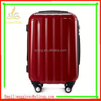 xc-7162 luggage waterproof durable trolley suitcase large plastic trolley luggage