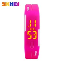 2 dollars multicolor jelly silicone Bracelet custom wristwatch online wholesales store