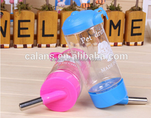 portable pet Drinking bottle for dog ,plastic drinking bottle