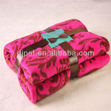 100% polyester super soft tree print fleece blanket