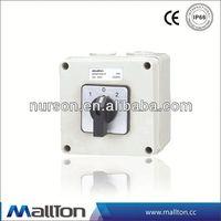 CE certificate 6 pole toggle switch