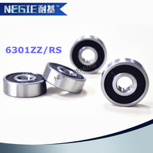China supplier Cixi Negie factory made high speed precision motorcycle bearing 6301