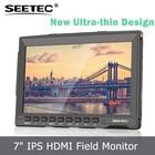 Câmera de alta Qualidade-top 7 Polegada IPS LCD monitor de visão amplo ângulos Histograma função dslr 3 brushless gimbal