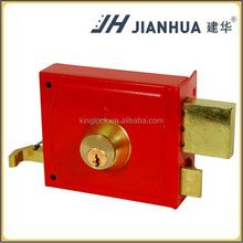 High Quality Security Door Latch Rim Lock