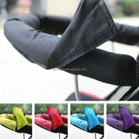 Purple Blue Black Red Green Baby Pram Pushchair Stroller Oxford Fabric Handle Bar Cover In Stock