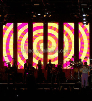 SMD P4 indoor full color led display screen used for stage and live show events