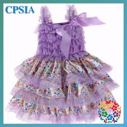 2015 Baby Princess Dress Latest design children dresses flower girl dresses for girls