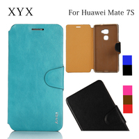 Lowest price !!! Fashion simple design flip case cover for huawei ascend mate 7S