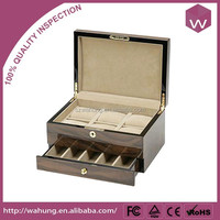 Custom-made watch box with velvet for packaging(WH-3380-ML)