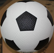 Bottom price unique golf surface rubber made soccer ball