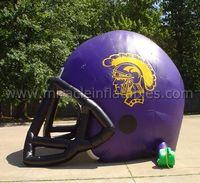 Outdoor advertising inflatable Purple helmet tunnelC5006