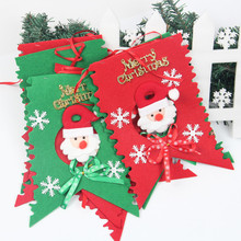YUWU Caddy SDZS-183 Wholesale Christmas decorations, Christmas hanging flags / banners / flags ornaments