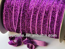 """Stretch glitter elastic 3/8"""" and 5/8"""" available"""