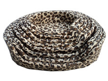Leopard print Pet bed for Summer & Spring