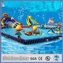 Retangular Above Ground Plastic Swimming Pool