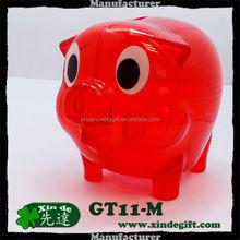 Hucha, Plastic Piggy Coin Bank, Saving Bank, Piggy coin Bank, Money Box -- coin bank