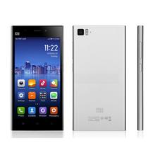 5 inch Xiaomi mi3 smartphone MSM8274AB Quad Core MIUI V5 13.0MP Camera mobile phone 2GB RAM 64GB ROM 3G mobile cell phone