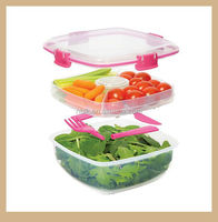 High Quality Plastic Lunch Box /Crisper