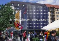 Hilight solar best price per watt solar panels 215w