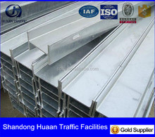galvanized sheet metal channel for metal guardrail used