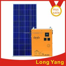 PV off-grid solar energy system generator built-in 300W inverter,100W solar panel,65AH battery