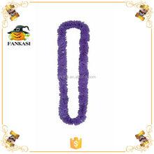 Wholesale Purple Hawaiian Flower Poly Necklace