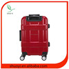 Colourful PC ABS suitcase/Hot sale trolley luggage/Baoding travel luggage bags supplier