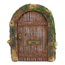 Resin Miniature Fairy Door