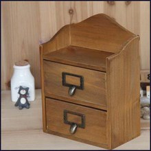 Durable export wooden storage box cassette lock secret