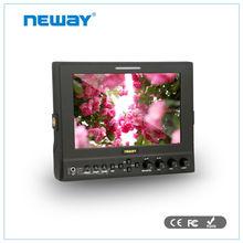 7 pulgadas bnc entrada HDMI sdi videocámara del monitor