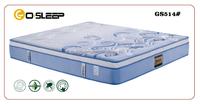 Euro top pocket coil spring mattress natural latex mattress high quality mattress from GANE Furniture GS514#
