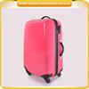 China wholesale luggage factory hot sale fashionable luggage trolley hardside ABS+PC wheeled travel luggage bag