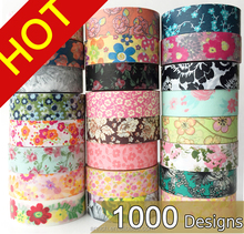 1000 Patterns colorful printing washi, Lovely WT tape, Anrich WT tape,