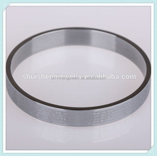 Stainless steel cheap fashion engraved bracelets wholesale christian