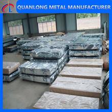 28 gauge black corrugated metal roofing sheet