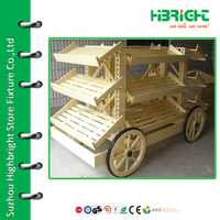 bread car and display stand