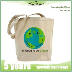 Customized cotton canvas tote bag,cotton bags promotion