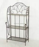 Home Decor Furniture wholesale wrought iron book rack