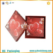 Custom logo Decorative Cardboard Candy Packaging Paper Chocolate Boxes