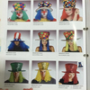 TK-008YIwu Caddy Factory wholesale lowest price Halloween funny carnival costumes fashion cosplay fancy clown costume with wig