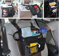 High quality Car seat storage bag / car seat back pocket / auto back seat hanging bag