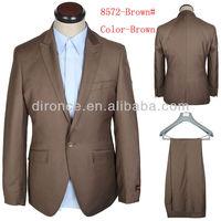 2013 Latest Suit Design Man Office Business Suit