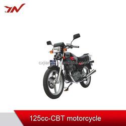 CBT single cylinder 125cc motorcycle