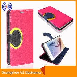 High Quality Flip Leather Wallet Phone Case for SamSung S5