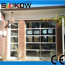 fold up glass garage door/fold up glass door/aluminum glass door
