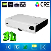 CRE X2500 3D LED + laser projector 3800lumens best native1280*800 HD Support 1080P Full Sealed & Dustproof